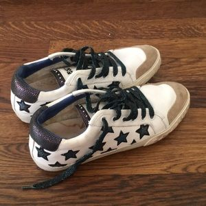 Star print sneakers from Ash
